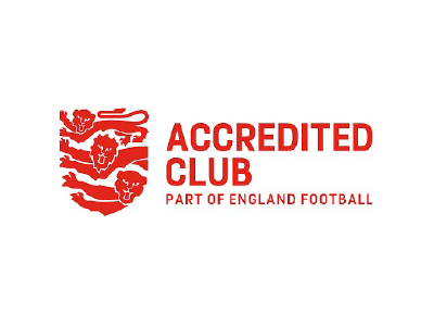 We are an England Football Accredited Club!